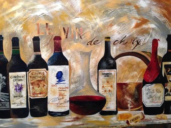 """Image of """"Le vin de choix"""""""