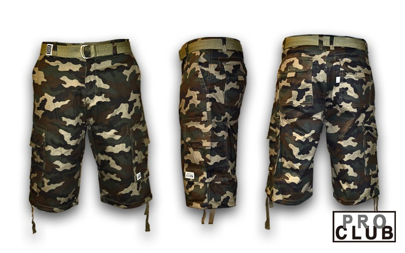 Image of Pro Club Camo Shorts