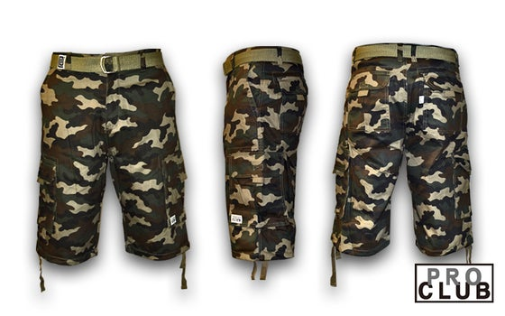 Image of Pro Club Canvas Shorts