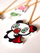 Image of Kawaii Superhero Panda Necklace