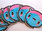 Image of Booba Vinyl Sticker Pack of 2