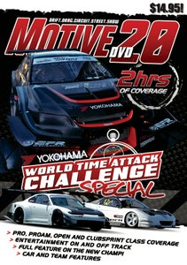 Image of  MOTIVE DVD #20 - 2013 WORLD TIME ATTACK