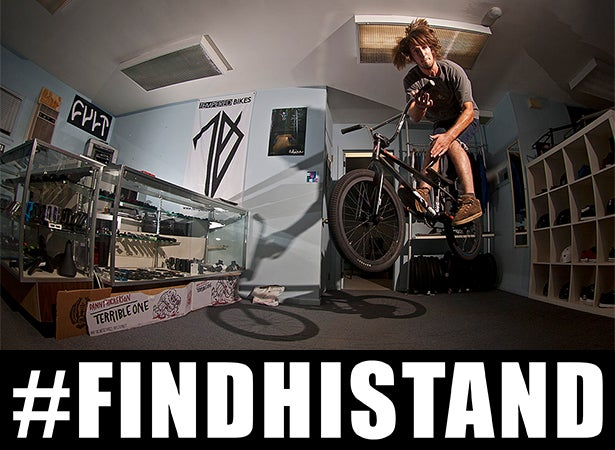 Image of #FINDHISTAND Stickers ($5 Donation)