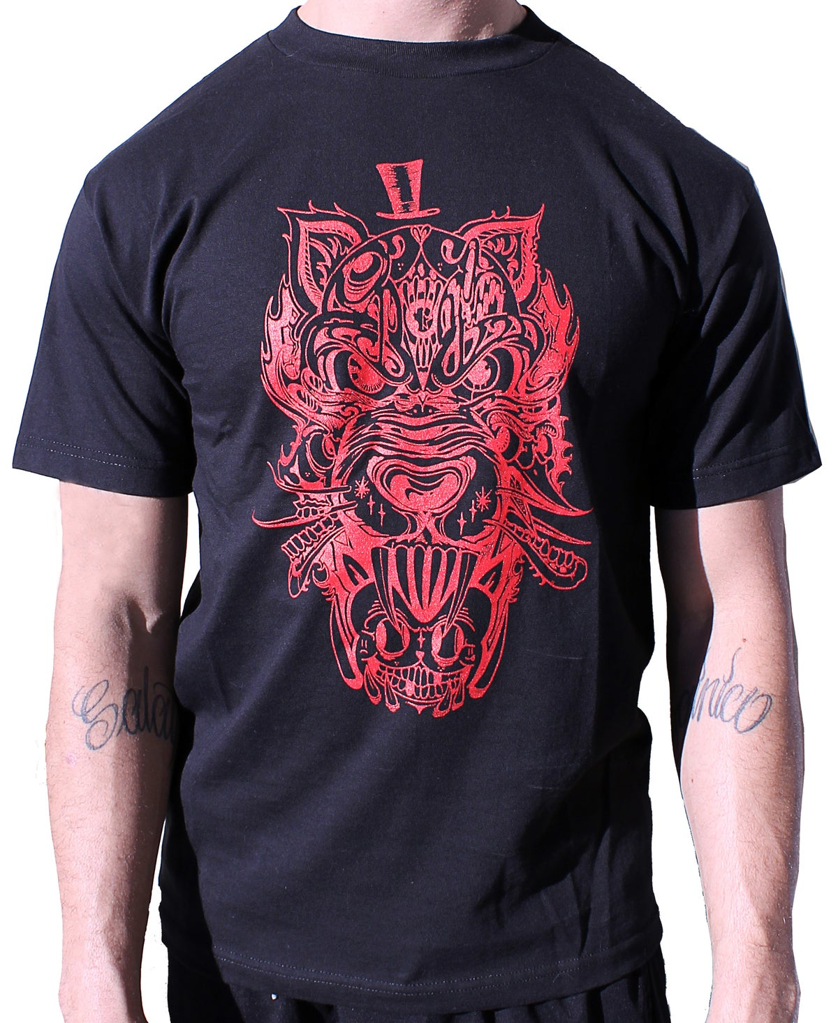 Image of DVIOUS WOLF TSHIRT
