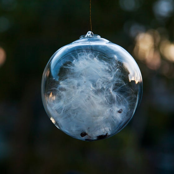 Image of HANGING GLASS ORB // ACHENE