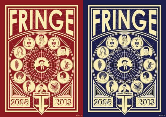 Image of Fringe Anniversay Poster