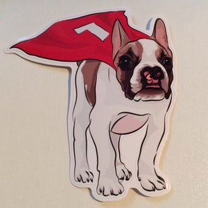 Image of Big Boy Super Bean Decal Sticker Small