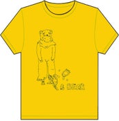 Image of Bear Trap T Shirt - Yellow
