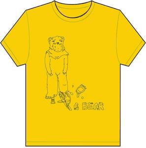 Image of Bear Trap T Shirt - Yellow