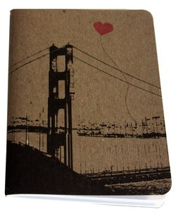 Image of Heart in San Francisco pocket notebook by note•ify