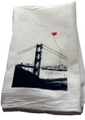 Image of San Francisco Lover's Tea Towel by note•ify