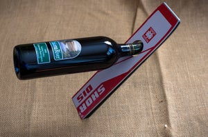 Image of Ski Wine Bottle Holder