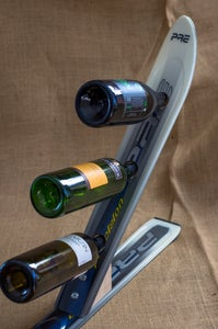 Image of Ski Three Wine Bottle Rack