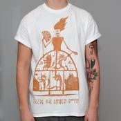 "Image of ""Fox-Robot"" White Shirt"