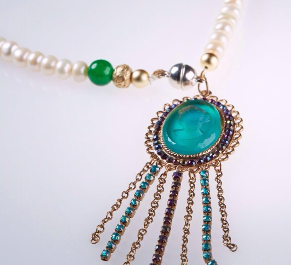 """Image of Perlenkette """"Königlich"""""""