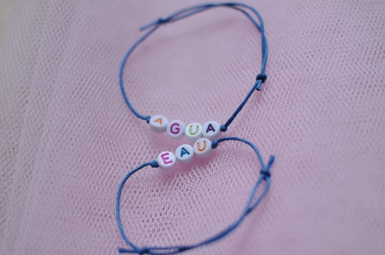 Image of Bracelet EAU en perles