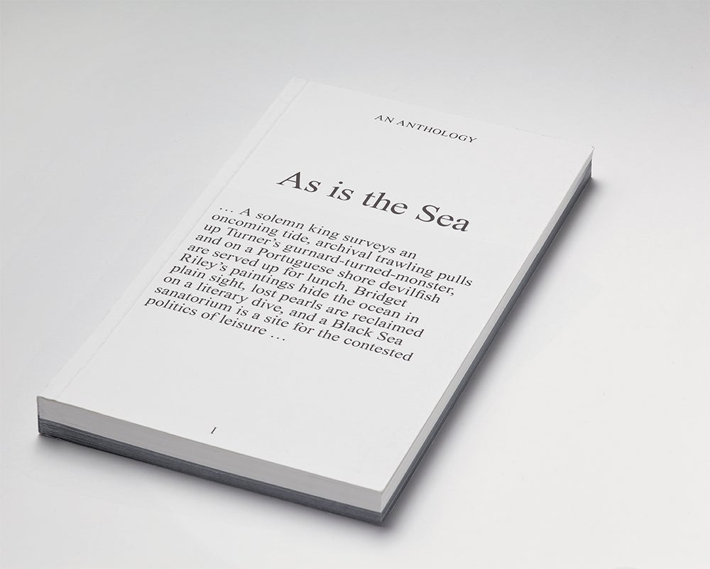 Image of As is the Sea - An Anthology