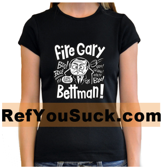 Image of Fire Gary Bettman! T-shirt & hoodie (men & women)