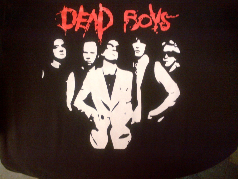 "Image of ""The Dead Boys"" original custom screen printed t-shirt"