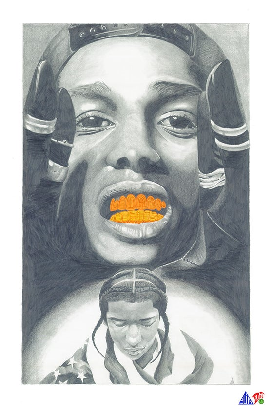 Image of 2013 - A$AP Rocky Portrait