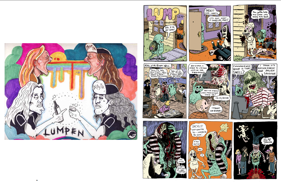 Image of Lumpen Comics #119