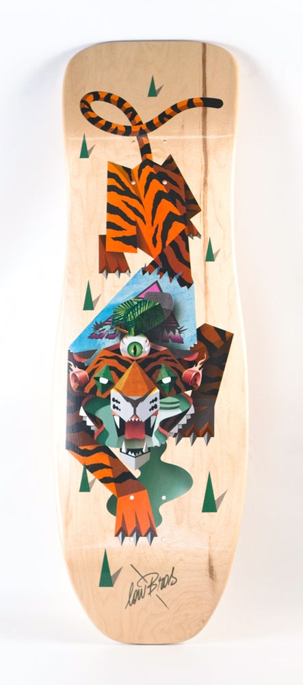 "Image of LOW BROS - ""Tiger"" Limited Edition"