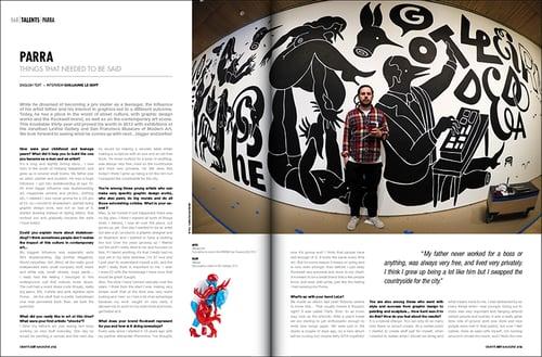 Image of Parra - Graffiti Art #18 (2013)