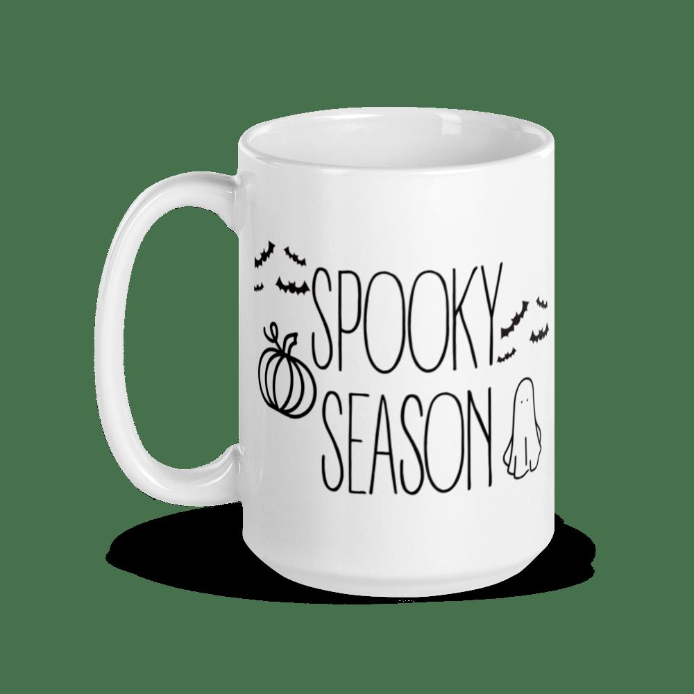 Image of Farmhouse Style Spooky Season Ceramic Mug