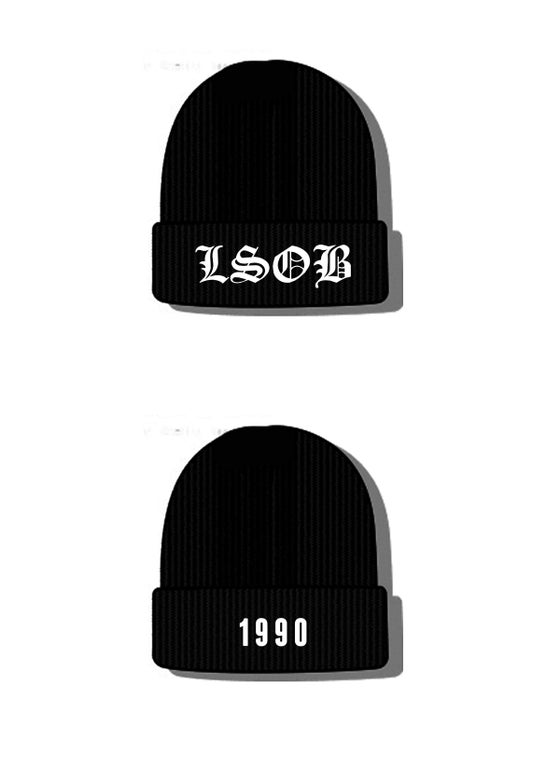 "Image of LSOB 1990 ""Old English"" Beanie"