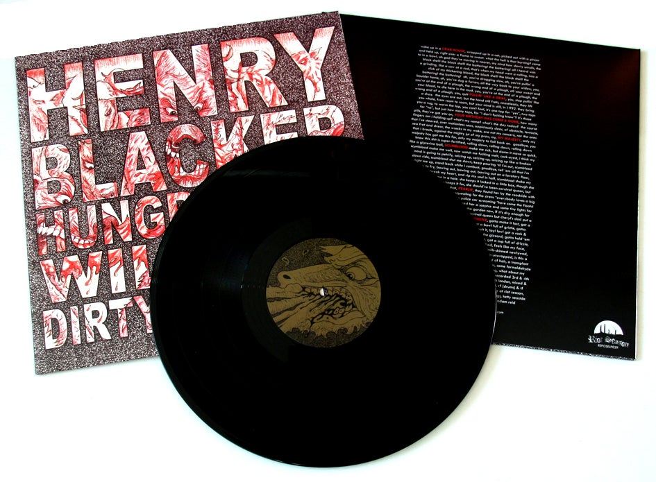 HENRY BLACKER 'Hungry Dogs Will Eat Dirty Puddings' Vinyl LP