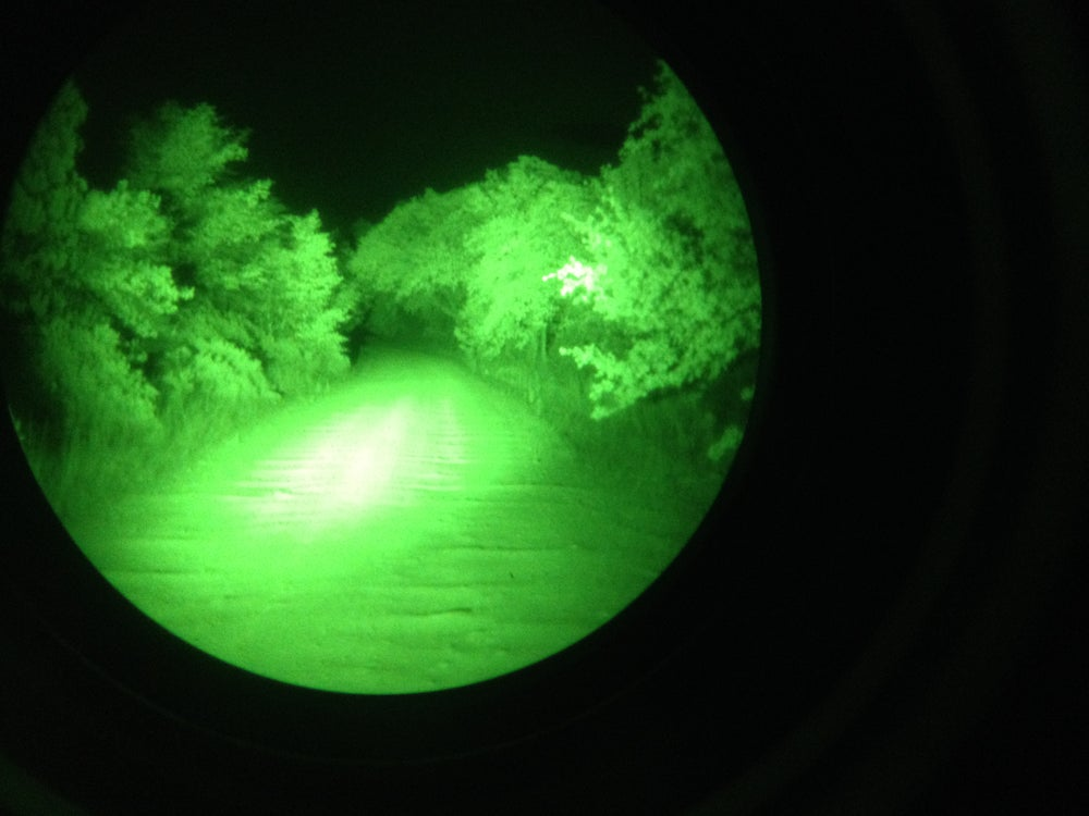 Image of Infrared LED vehicle light