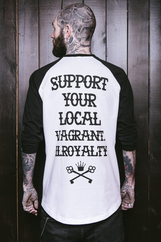 Image of Support Raglan Tee