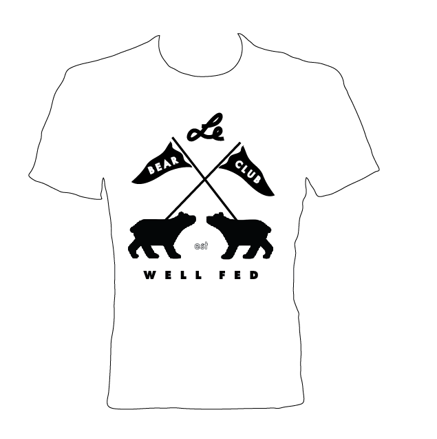Image of BEAR CLUB x WELL FED ARTIST SOCIETY Shirt