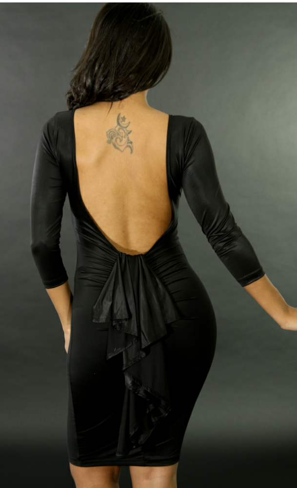 Image of Downtown Open Back Dress