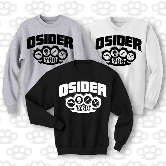 Image of 928 KNUCLE CREW NECK SWEATER