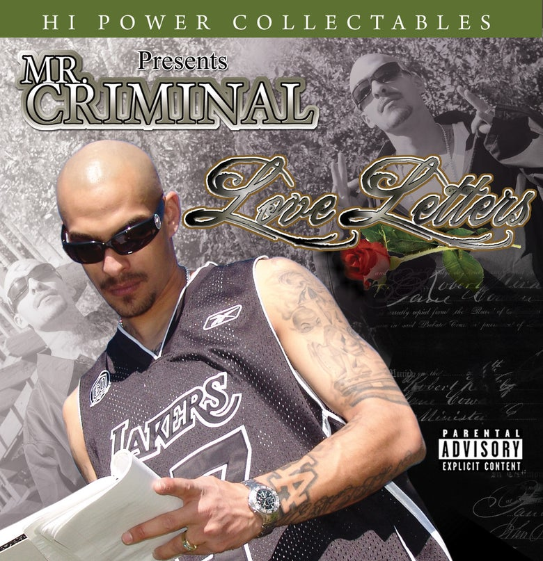 Image of Mr. Criminal - Love Letters