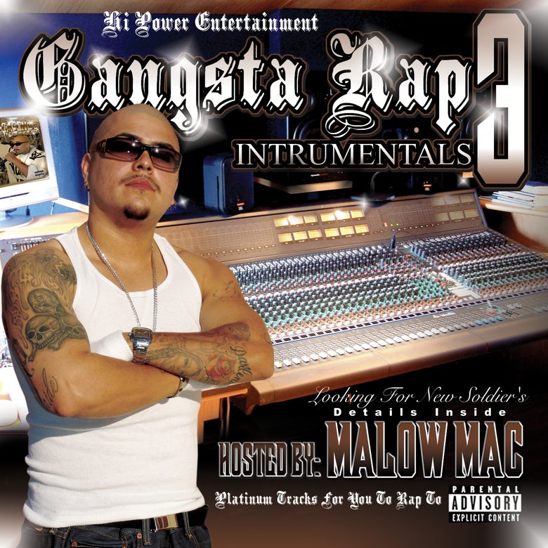 Image of Gangster Rap Instrumentals 3