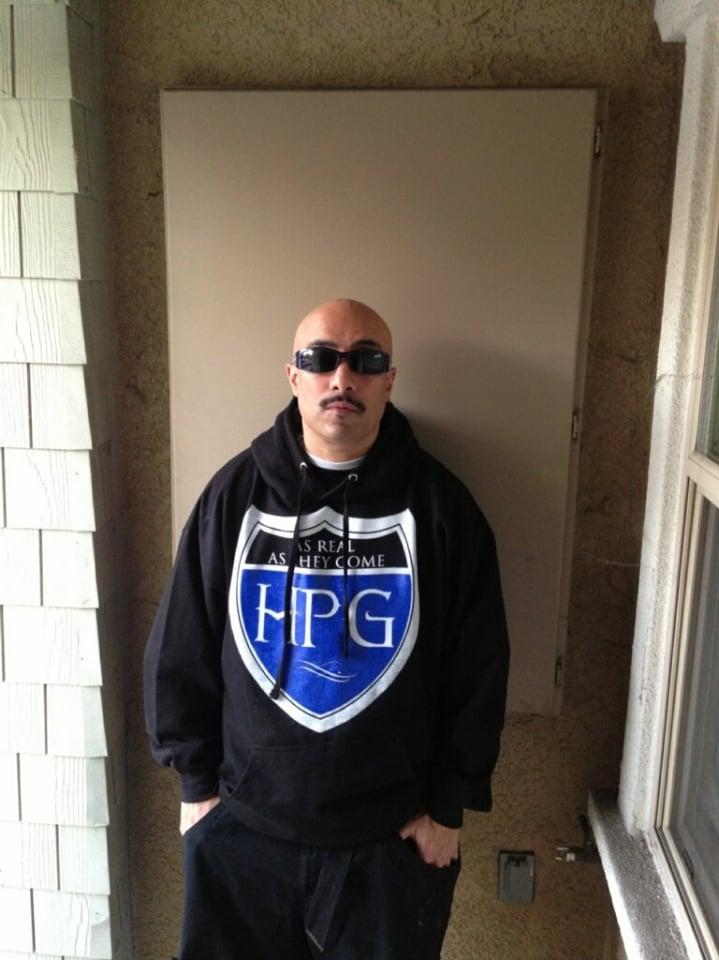 Image of Hi Power Highway Shield Hoodie