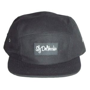 Image of Black 5 Panel Hat