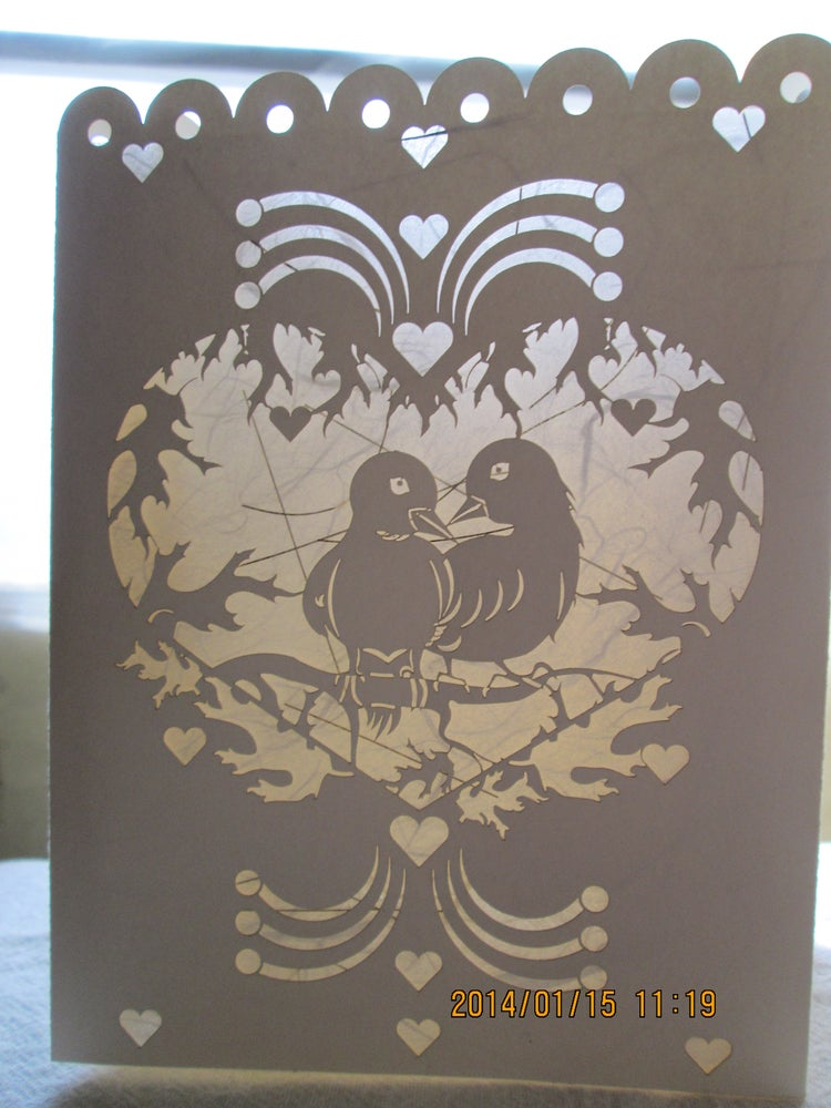 "Image of ""Lovebirds"" - Luminaria"