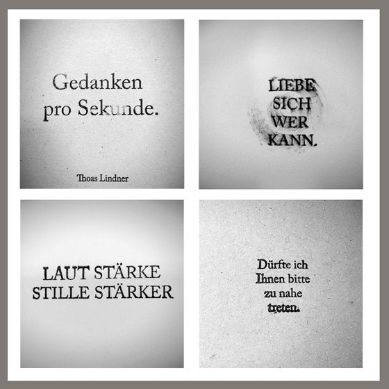 Image of Gedanken pro Sekunde | THOUGHTS/sec.