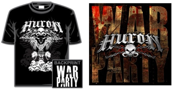Image of 'WAR PARTY' EP + T-Shirt