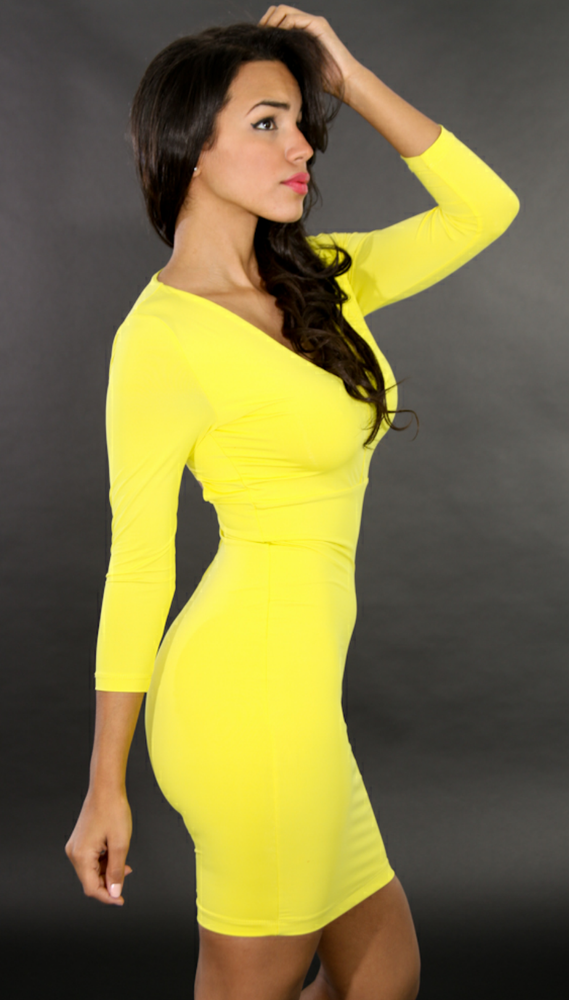 Image of Good Girl Yellow Dress