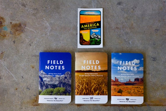 Image of Field Notes // America the Beautiful Edition