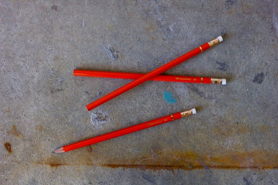 "Image of Palomino Orange HB ""California Republic""  pencils"