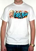 Image of Blue Kane Graffiti Premium Tee