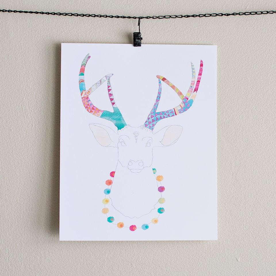 Image of Playful Deer