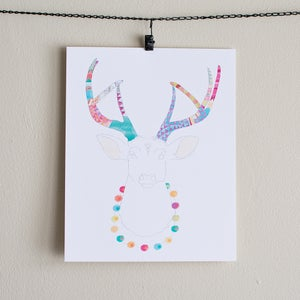 Image of Playful Deer