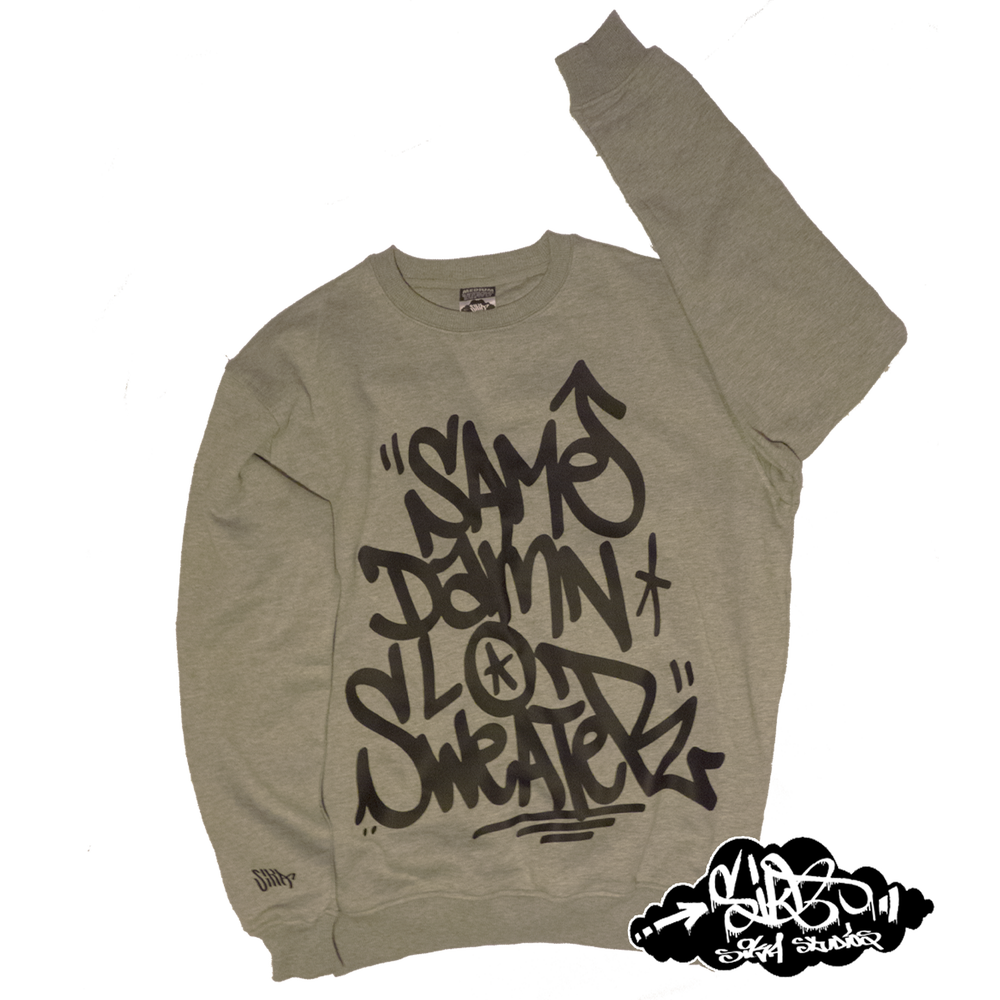 """Image of ((SIKA x Mr MET)) """"SAME DAMN LO SWEATER"""" (super don quality/street fit)"""