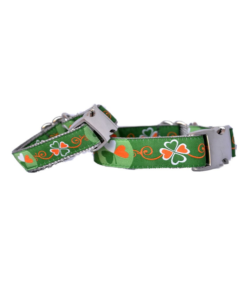 Shamrock -  Dog Collar